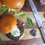 Yogurt topped turkey burger, From Chef To Home