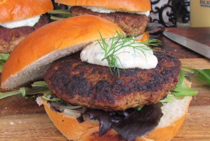 Cajun Dusted Turkey Burger, From Chef To Home