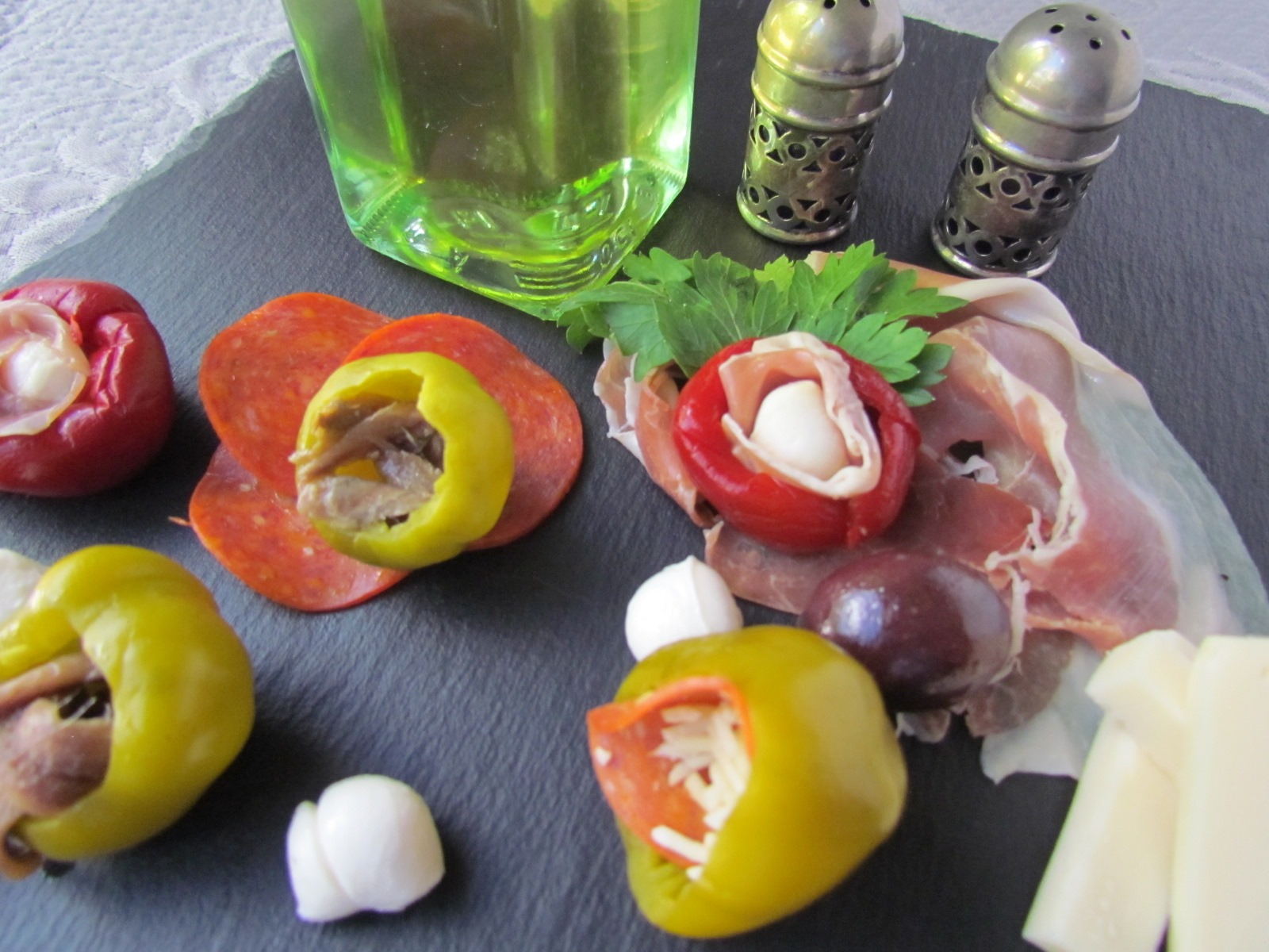 Classic Italian Stuffed Cherry Peppers