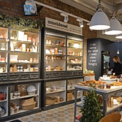 Kitchen Pottery Canisters Storage Cabinets Cosy Dublin Cafe / Considered By Helen James – From China ...
