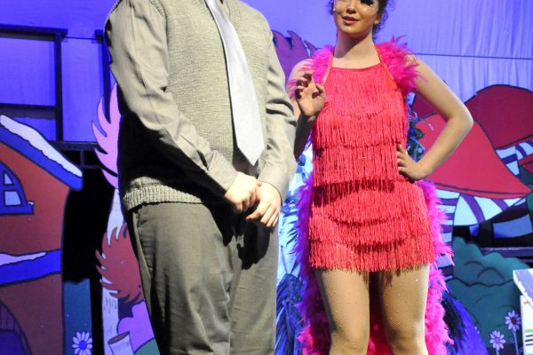 Seussical performed at teh Frome Memorial Theatre