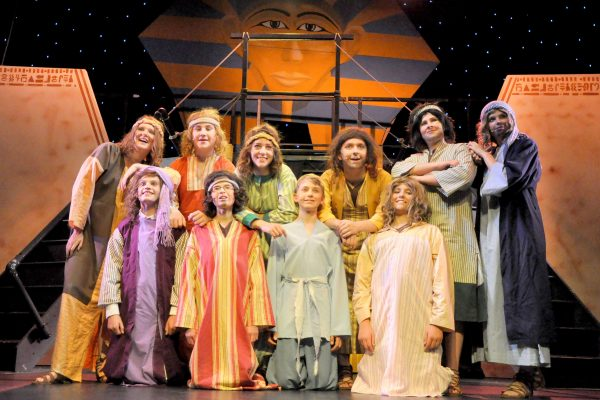 Joseph stage production by Frome Musical Theatre Co