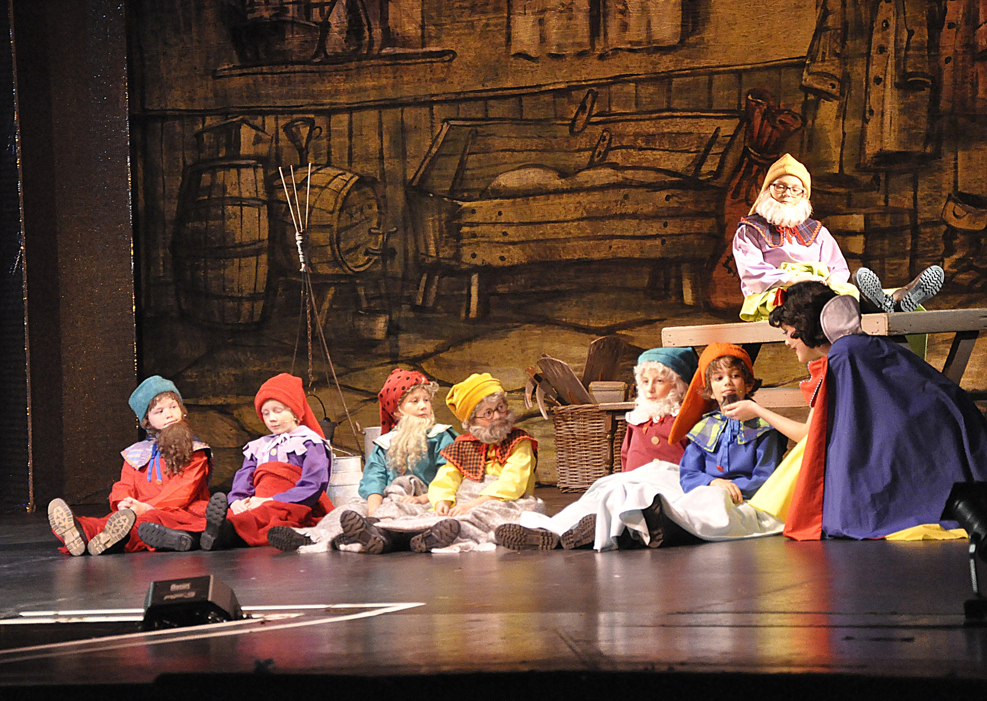 Snow White and the Seven Dwarfs Pantomine in Frome