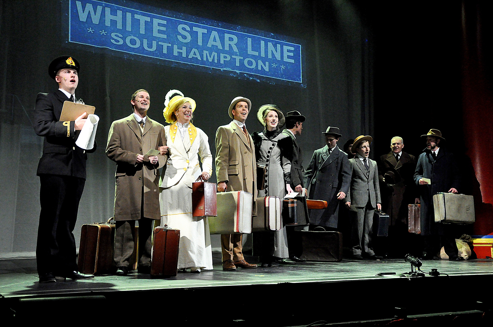 FMTC production of Titanic in Frome