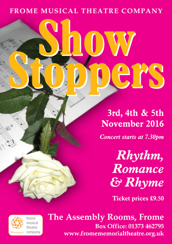 Showstoppers Concert 2016