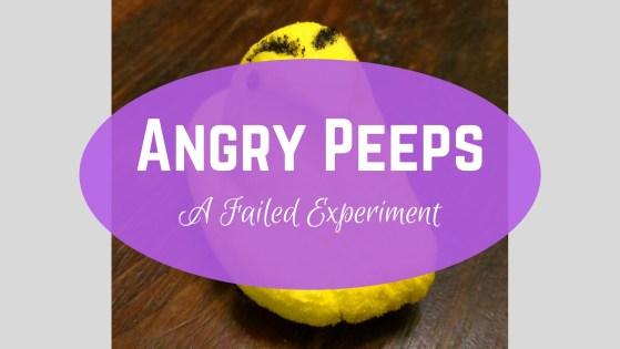 Failed Experiment with Peeps