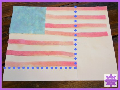 Water Science Experiments | American Flag Activities for Kids