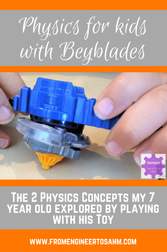 Physics for Kids with Beyblades | Circular Motion | Newton's Laws of Motion