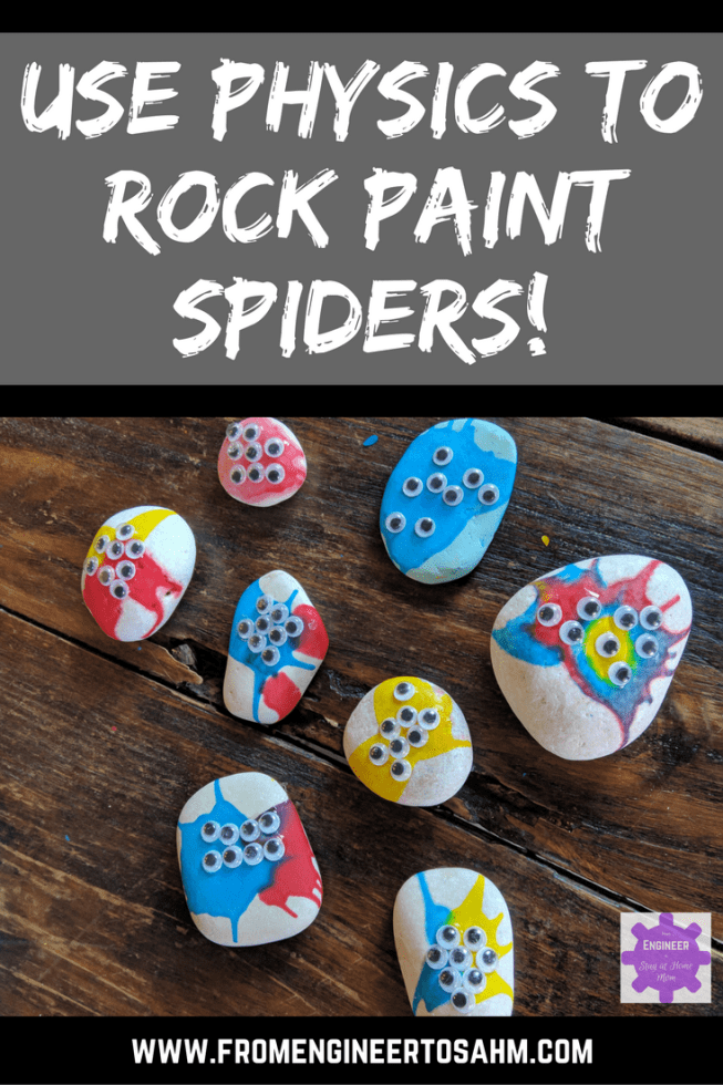 Have fun with halloween makeup! Halloween Rock Painting For Kids Using Physics And Forces