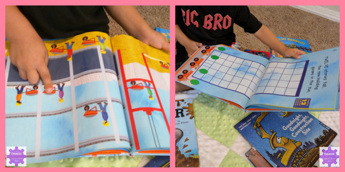 STEM Books for Kids | 7 Construction Engineering Books for Kids!