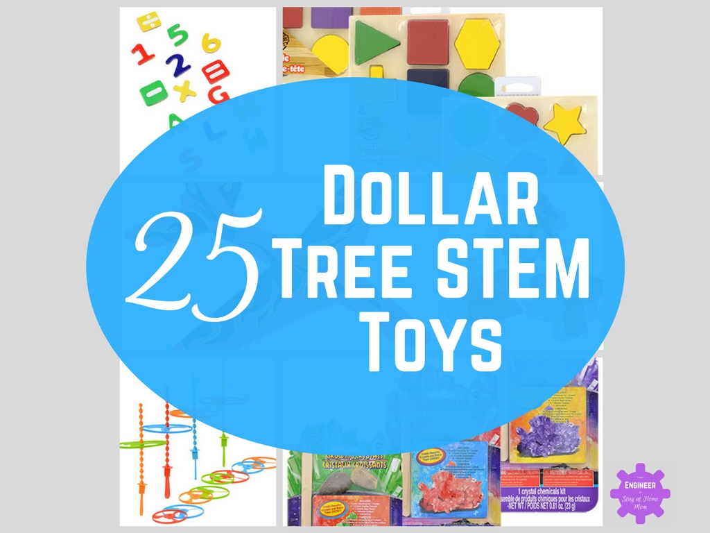 25 Dollar Tree Toys for Exploring STEM!