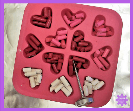Melting Crayons Experiment | Valentine Day Crayon Experiment | The Science Behind Melting Crayons
