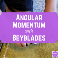 Angular Momentum Experiment with Beyblades!