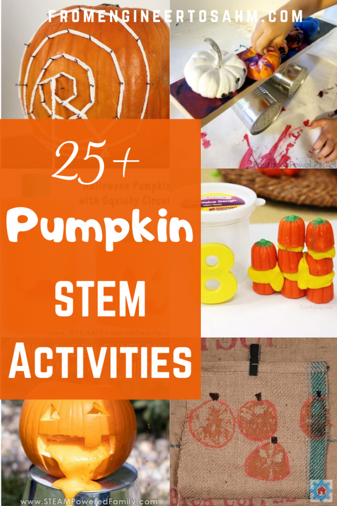Over 25 Pumpkin STEM activities to do this fall!