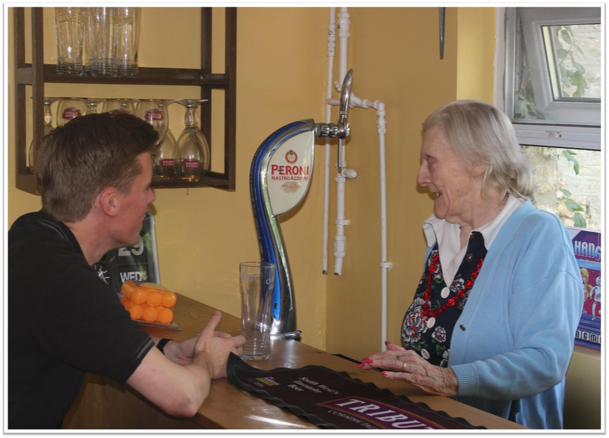 Frome Nursing Home's Sensory Pub