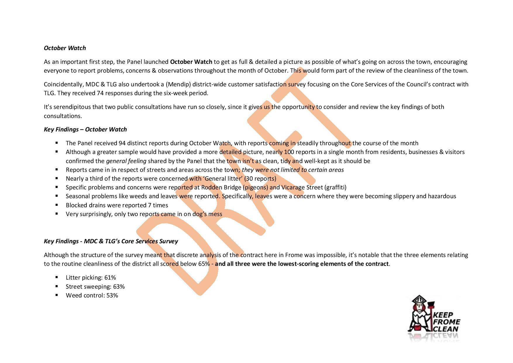 Keep Frome Clean Panel - Draft Report-page-002 - Frome Town Council