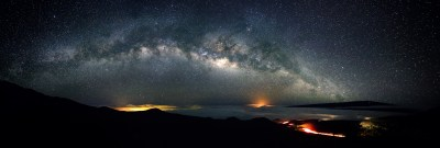 Milky Way Panorama From Mauna Kea