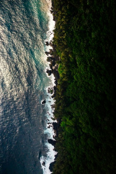 Nanawale Bay Coastline