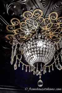 How To Make A Beautiful Lace DIY Ceiling Medallion On A Budget