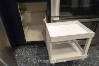 How To Build Pull Out Shelves For a Blind Corner Cabinet ...