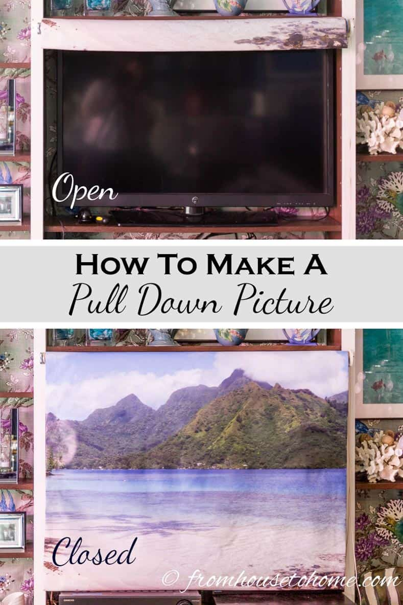 How To Make a Pull Down Picture