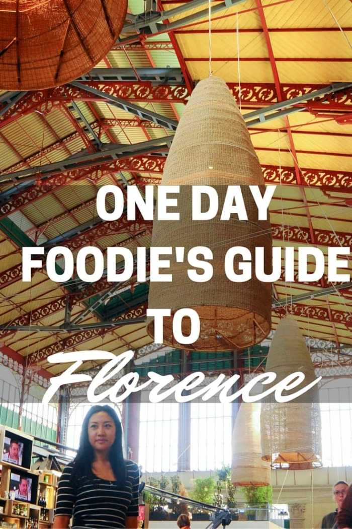 One Day Foodie's Guide to Florence