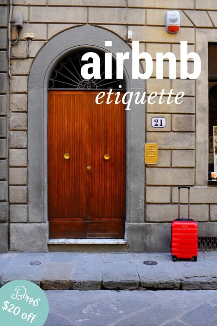 Airbnb Etiquette