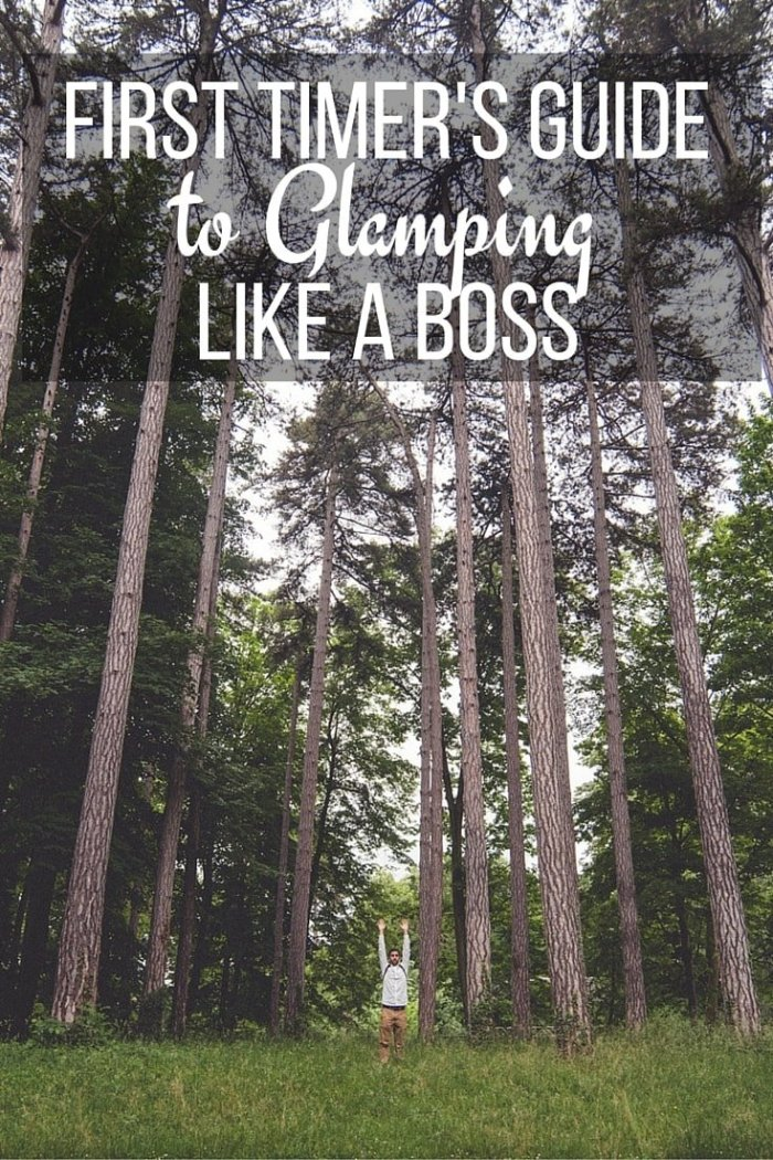 First Timer's Guide to Glamping Like a Boss