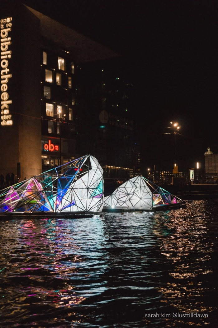 The Best Way to See the Amsterdam Light Festival