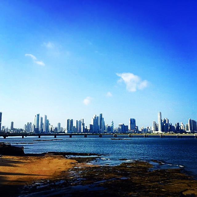 View of Panama City from Casco Viejo