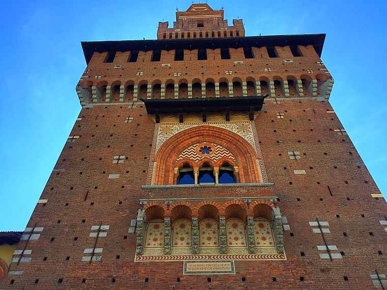 Sforza Castle in Milano