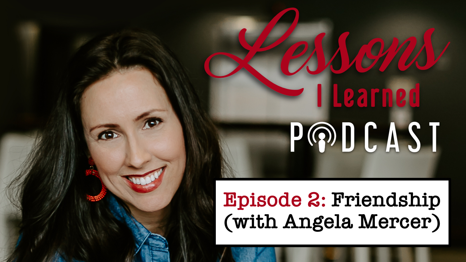 Angela Dip Fotos podcast: lessons i learned from angela mercer - from milk to