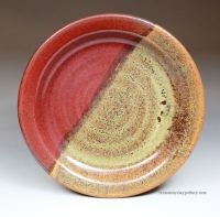 Handmade Pottery Dinner Plate | From Miry Clay Pottery