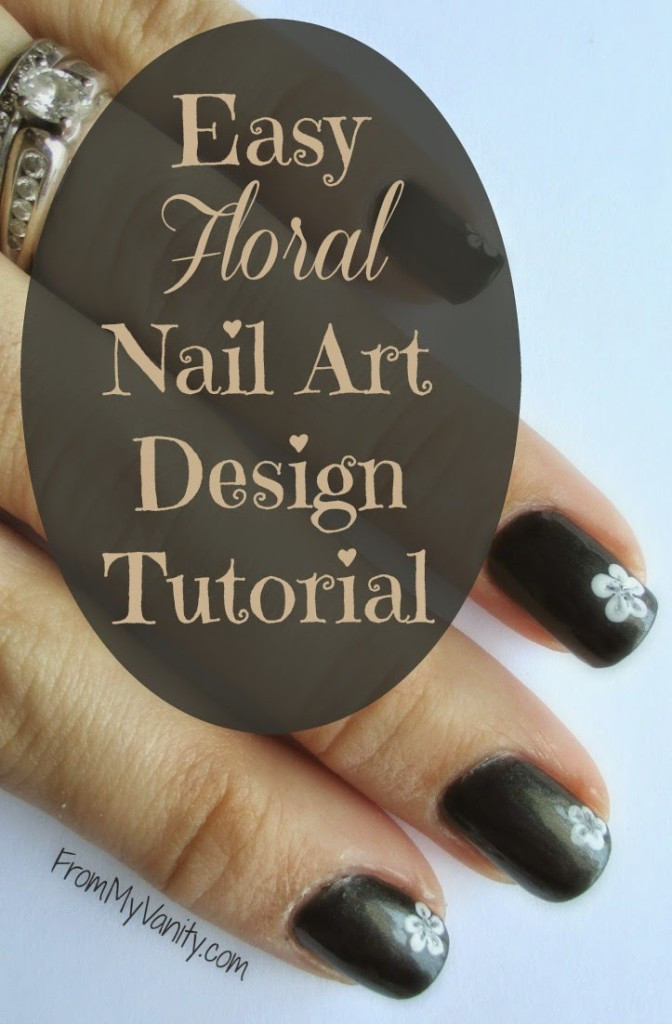 5 Steps To Creating An Easy Floral Nail Art Design Tutorial From