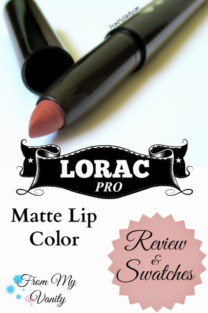 Lorac Pro To Go Professional Eye Collection Review: LORAC's Fall 2014 Collection Includes PRO Matte Lip Colors