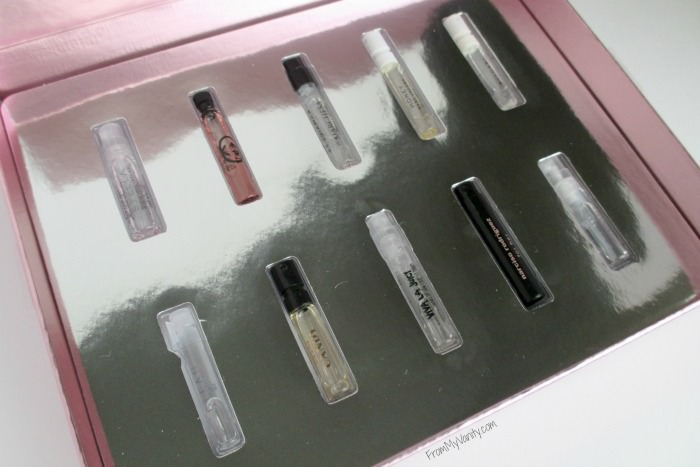Sephora Fragrance Sampler for Her - is it Worth Getting | Box of Sample Vials | FromMyVanity.com