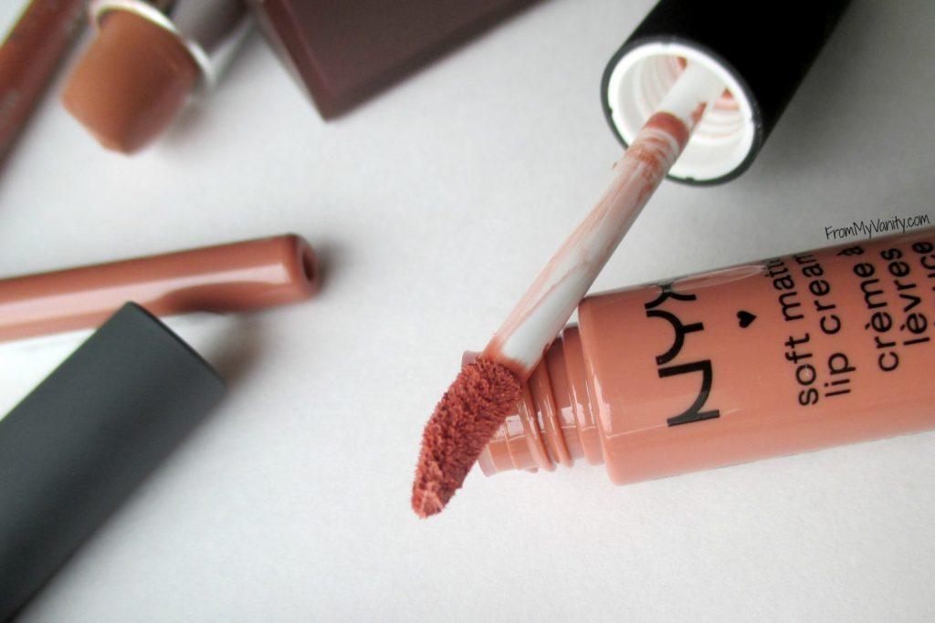 Top 5 Nude Lips for Light Medium Skintone // Lipstick Closeup // FromMyVanity.com