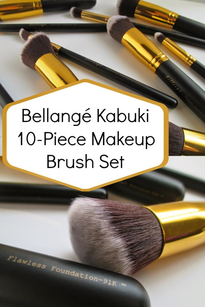 The company Bellange approached me in January, wanting to see if I would like to try out their brush set that included 10 different types of face brushes.