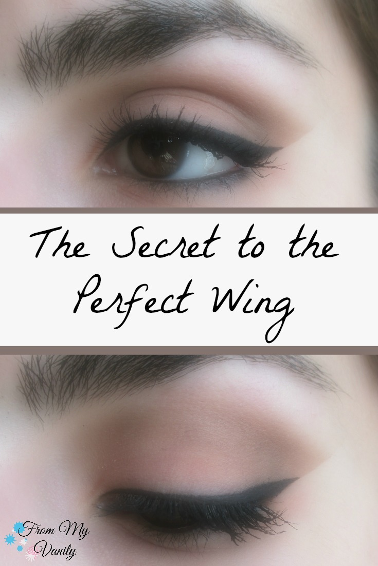 Finally, the secret to creating a flawless, perfect winged liner is revealed! | FromMyVanity.com