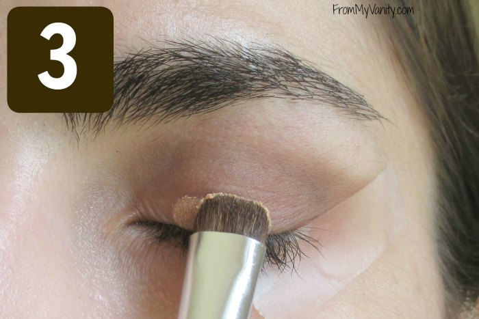 Secret to the Perfect Winged Liner Tutorial | Step 3 | FromMyVanity.com