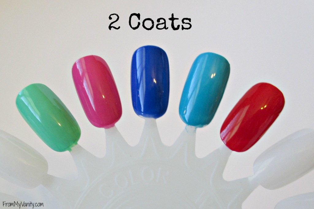 Bonita Salon Gel-On Nail Polish // 2 Coats // From My Vanity // (www.frommyvanity.com) #ladykaty92
