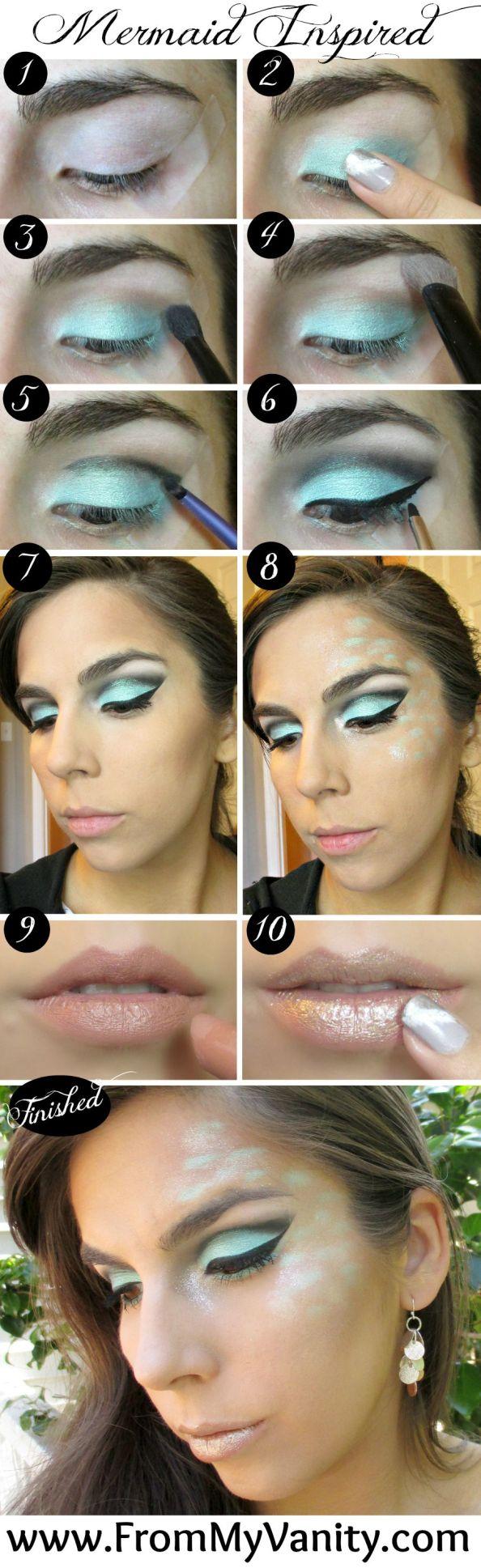 mermaid-inspired-makeup-tutorial-stepbystep