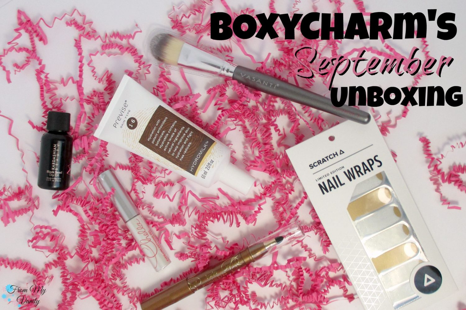 BoxyCharm's September Unboxing // From My Vanity