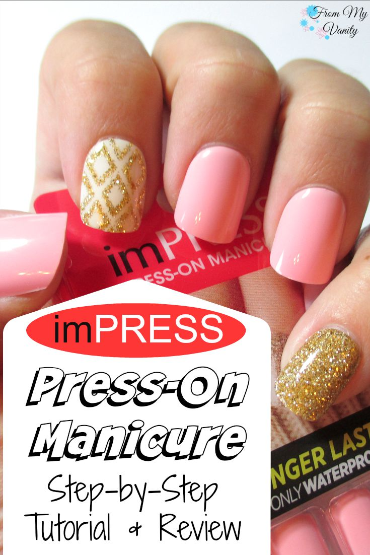 A Salon-Quality Manicure At Home with imPRESS Manicure (Tutorial ...