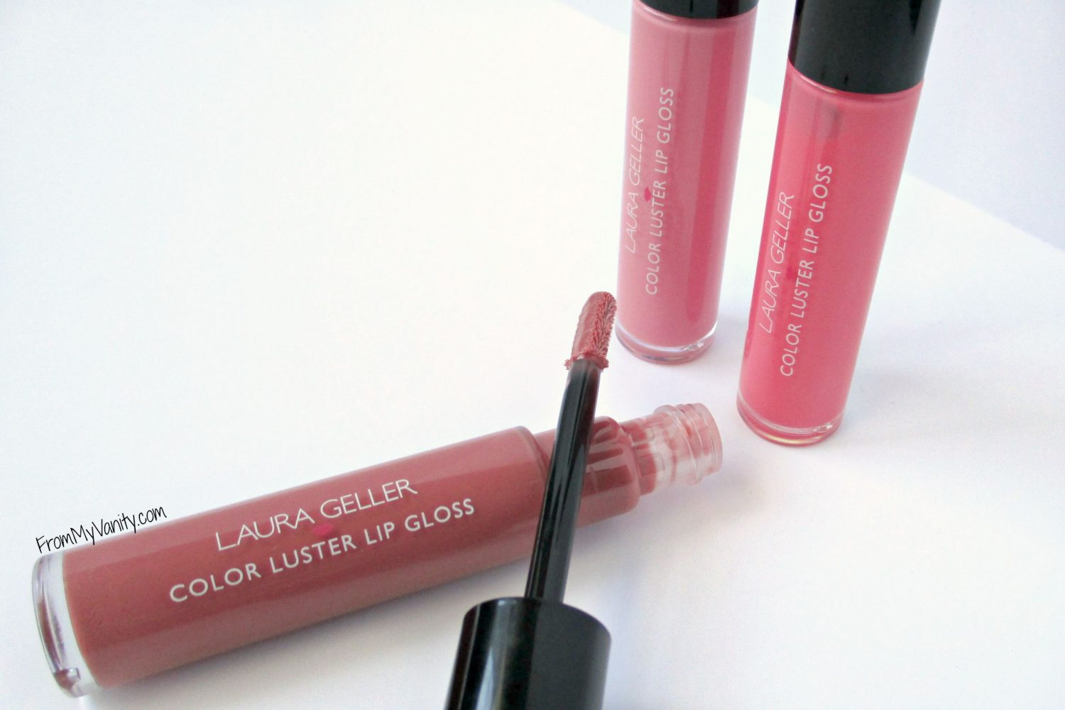 Laura Geller Color Luster Lip Glosses // All Lip Glosses // From My Vanity