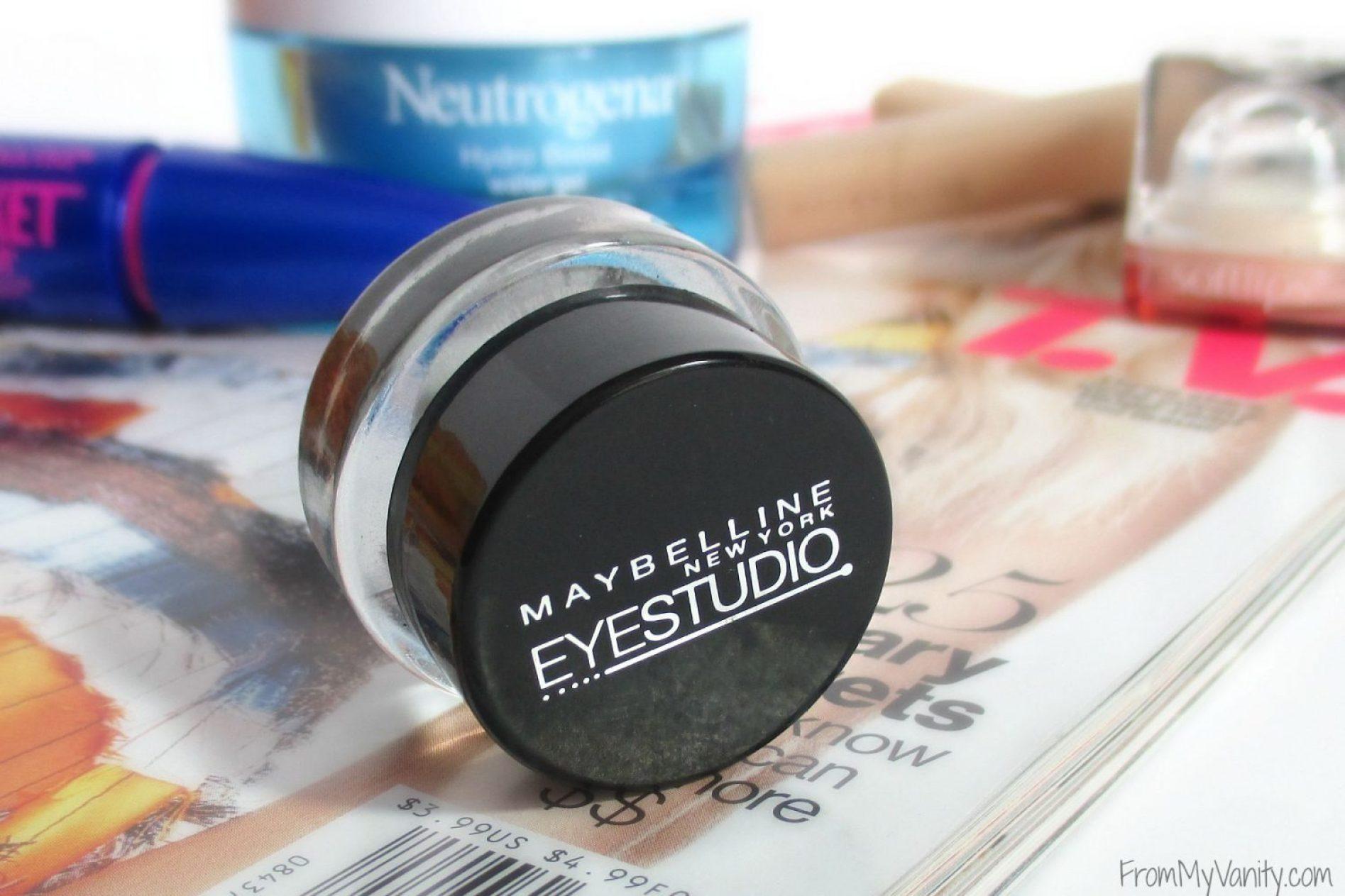 Favorite Drugstore Beauty Buys // Maybelline Eye Studio Gel Eyeliner // Elle Sees & From My Vanity