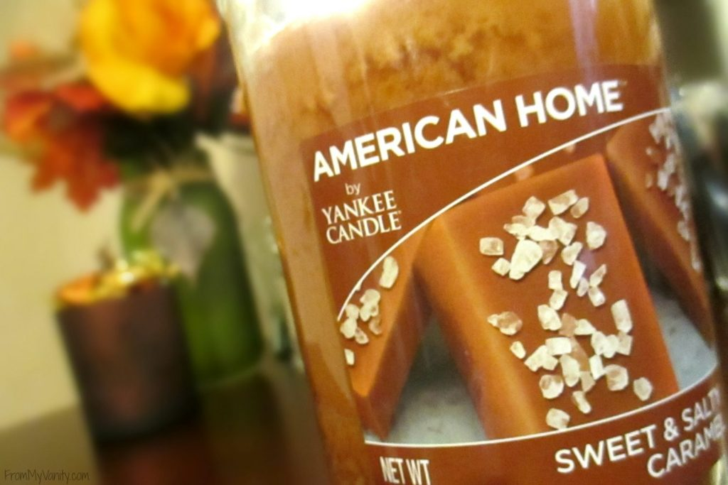 Decorate Your Vanity for Fall // Fall Inspired American Home by Yankee Candle // #LoveAmericanHome #CollectiveBias #ad // FromMyVanity.com