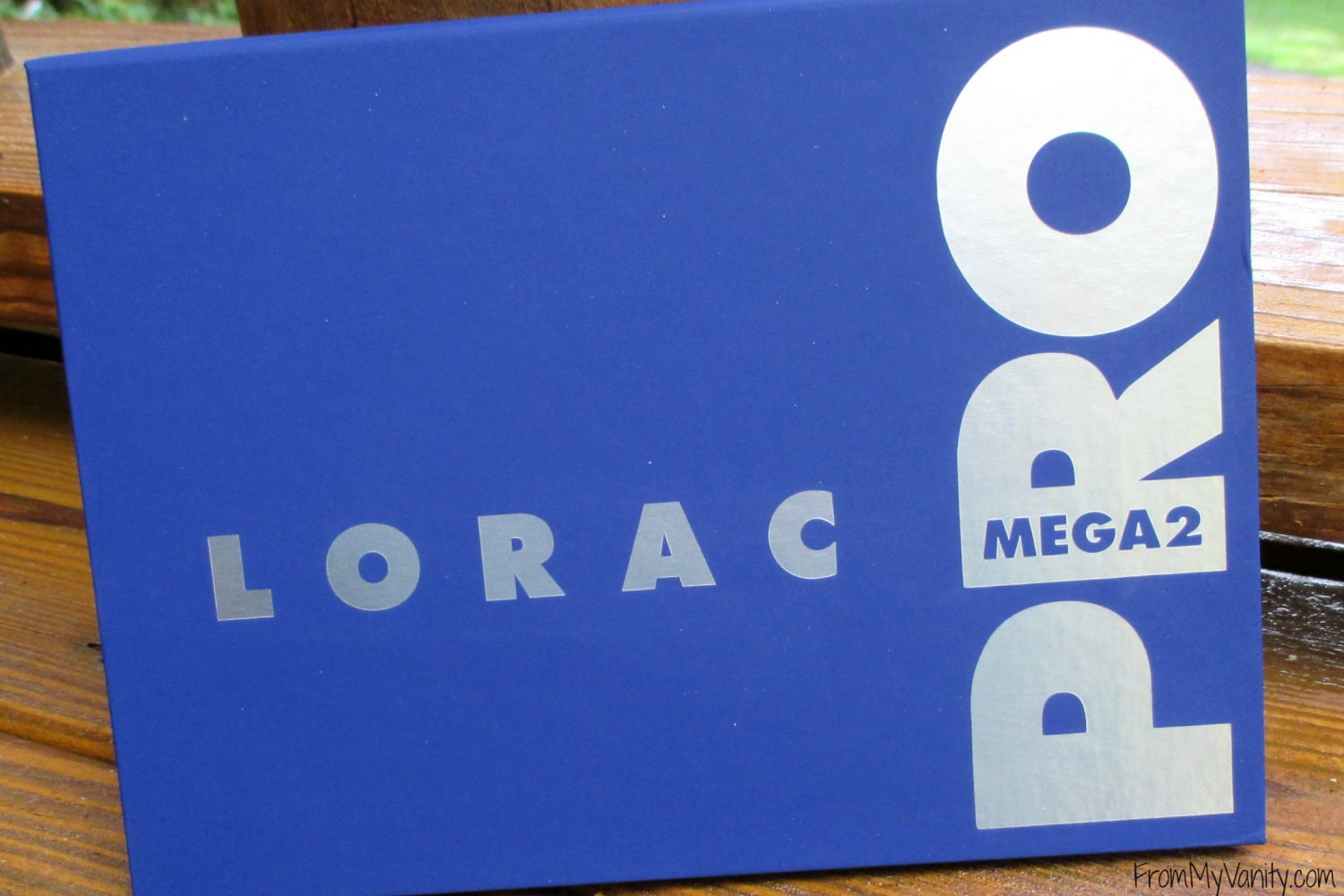 LORAC Mega Pro 2 Eyeshadow Palette // Review, Swatches, & Eye Looks // Closed Palette // #LORACCosmetics #MegaPro2 FromMyVanity.com