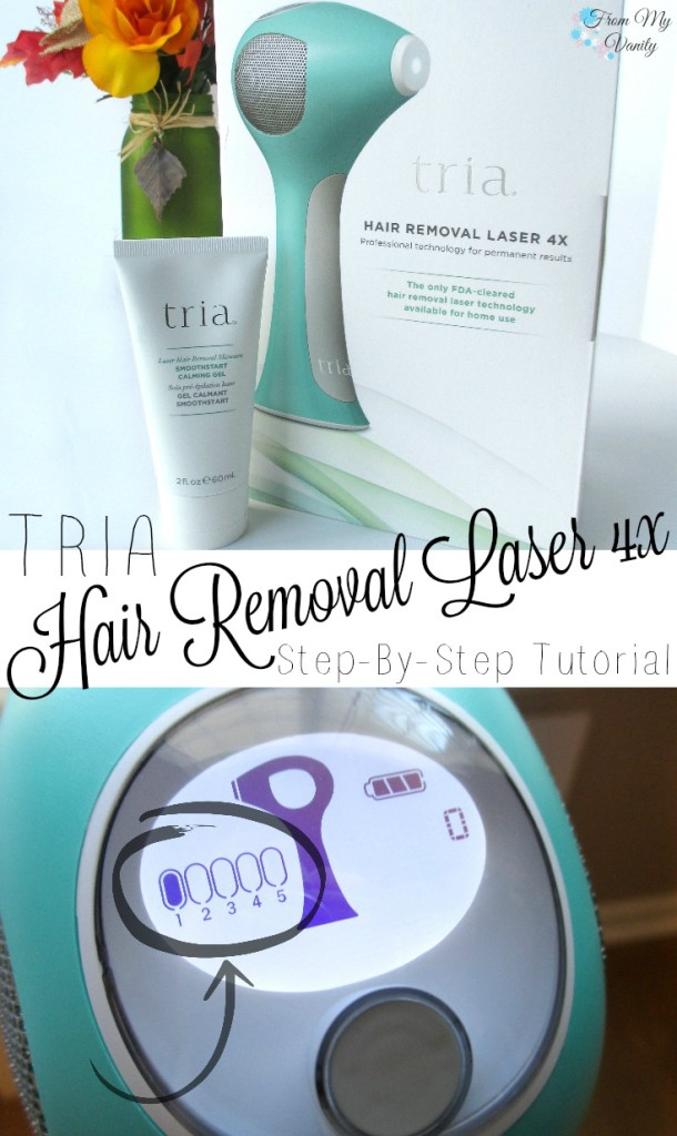 Tria Beauty // Hair Removal Laser 4x // Step-By-Step Tutorial // First Impressions // #TriaBeauty FromMyVanity.com