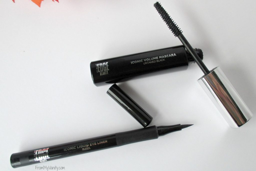 One Brand Tutorial & Review // The EDGE Beauty // Mascara & Eyeliner // #edgebeauty #ladykaty92 FromMyVanity.com